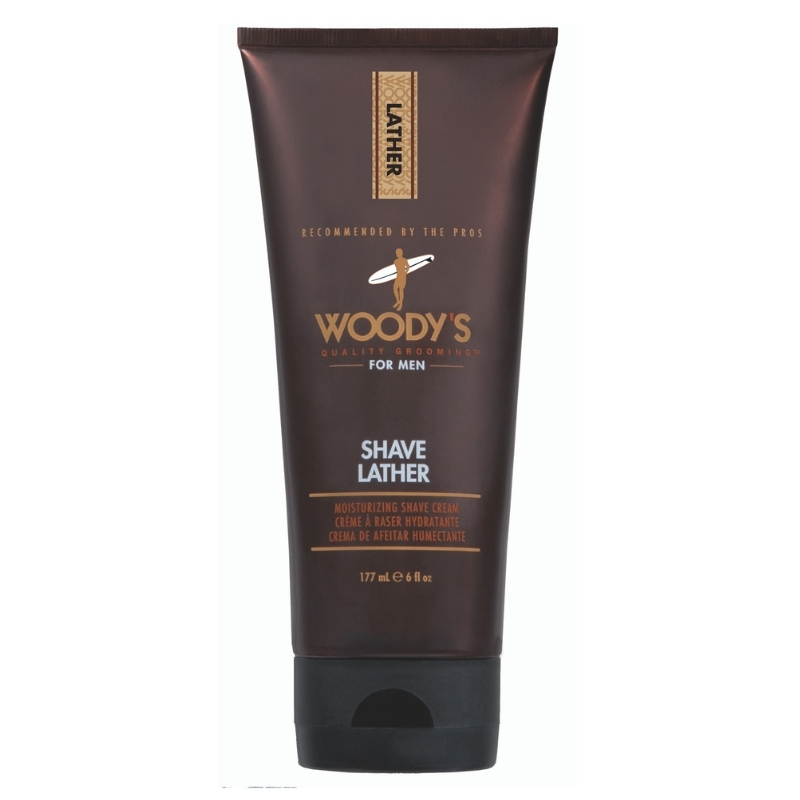 Shave Lather Woody's For Men 177 ml