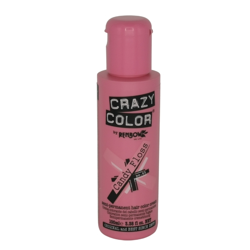 Candy Floss 65 Renbow Crazy Color Semi-Permanent Hair Color 100 ml