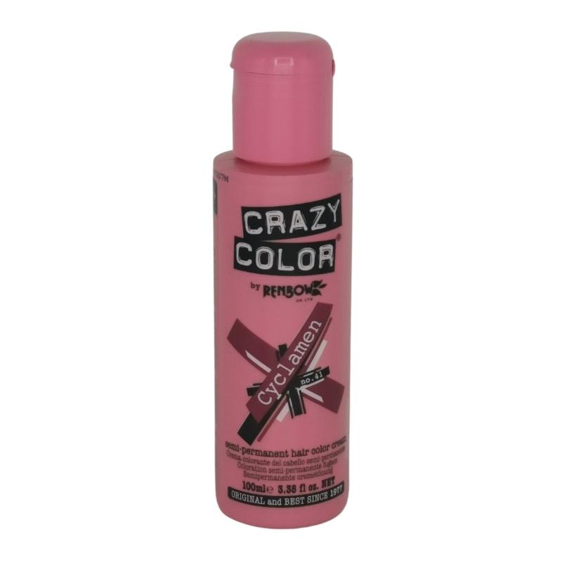 Cyclamen 41 Renbow Crazy Color Semi-Permanent Hair Color 100 ml