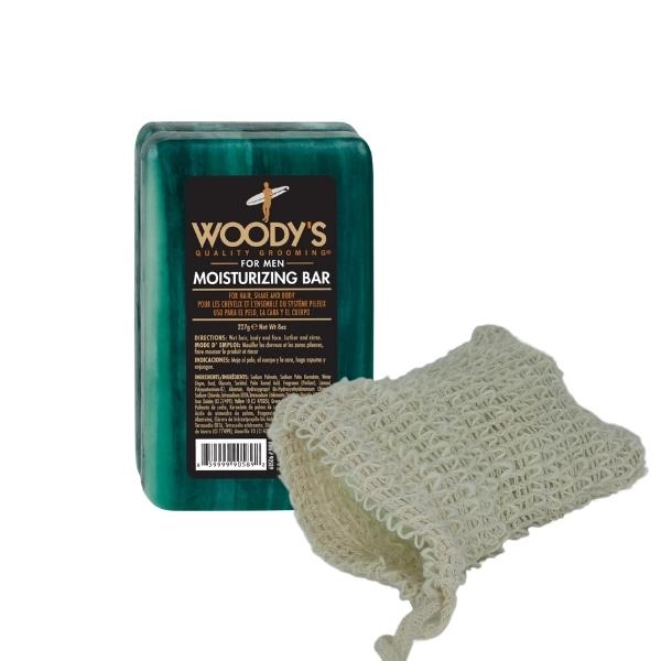 WOODY'S Moisturizing Bar Pflegeset 227 g